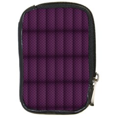 Plaid Purple Compact Camera Cases by Alisyart