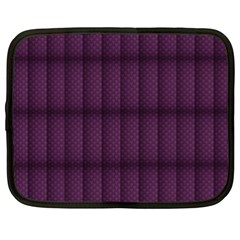 Plaid Purple Netbook Case (xxl)  by Alisyart