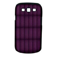 Plaid Purple Samsung Galaxy S Iii Classic Hardshell Case (pc+silicone) by Alisyart