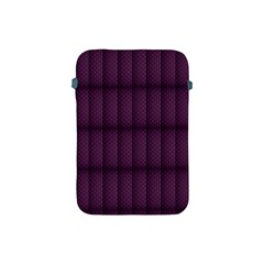 Plaid Purple Apple Ipad Mini Protective Soft Cases