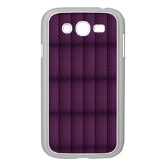 Plaid Purple Samsung Galaxy Grand Duos I9082 Case (white) by Alisyart