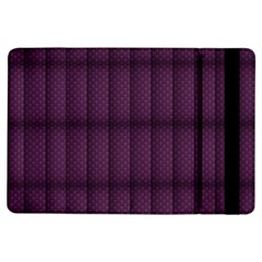 Plaid Purple Ipad Air Flip by Alisyart