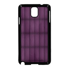 Plaid Purple Samsung Galaxy Note 3 Neo Hardshell Case (black)