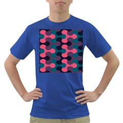 Symmetry Celtic Knots Contemporary Fabric Puzzel Dark T Shirt by Alisyart