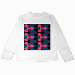 Symmetry Celtic Knots Contemporary Fabric Puzzel Kids Long Sleeve T Shirts