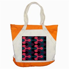 Symmetry Celtic Knots Contemporary Fabric Puzzel Accent Tote Bag