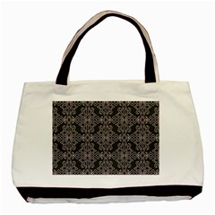 Line Geometry Pattern Geometric Basic Tote Bag by Amaryn4rt