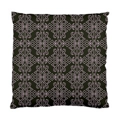 Line Geometry Pattern Geometric Standard Cushion Case (one Side) by Amaryn4rt