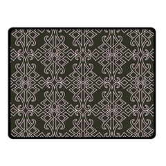 Line Geometry Pattern Geometric Fleece Blanket (small) by Amaryn4rt