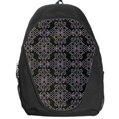 Line Geometry Pattern Geometric Backpack Bag by Amaryn4rt