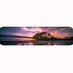 Landscape Reflection Waves Ripples Large Bar Mats by Amaryn4rt