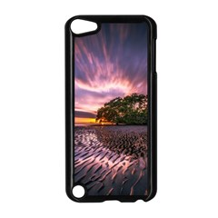 Landscape Reflection Waves Ripples Apple Ipod Touch 5 Case (black) by Amaryn4rt