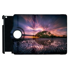 Landscape Reflection Waves Ripples Apple Ipad 3/4 Flip 360 Case by Amaryn4rt