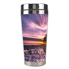 Landscape Reflection Waves Ripples Stainless Steel Travel Tumblers by Amaryn4rt