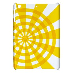 Weaving Hole Yellow Circle Apple Ipad Mini Hardshell Case by Alisyart
