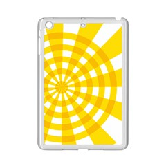 Weaving Hole Yellow Circle Ipad Mini 2 Enamel Coated Cases by Alisyart