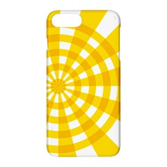 Weaving Hole Yellow Circle Apple Iphone 7 Plus Hardshell Case by Alisyart