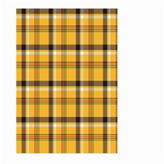 Plaid Yellow Line Large Garden Flag (two Sides) by Alisyart