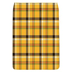 Plaid Yellow Line Flap Covers (s)  by Alisyart
