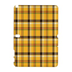 Plaid Yellow Line Galaxy Note 1 by Alisyart