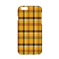 Plaid Yellow Line Apple Iphone 6/6s Hardshell Case by Alisyart