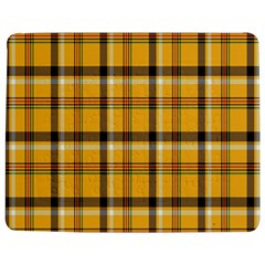 Plaid Yellow Line Jigsaw Puzzle Photo Stand (rectangular) by Alisyart