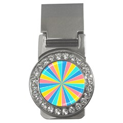 Rhythm Heaven Megamix Circle Star Rainbow Color Money Clips (cz)  by Alisyart