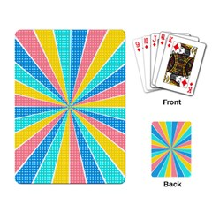 Rhythm Heaven Megamix Circle Star Rainbow Color Playing Card