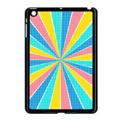 Rhythm Heaven Megamix Circle Star Rainbow Color Apple Ipad Mini Case (black) by Alisyart