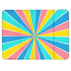 Rhythm Heaven Megamix Circle Star Rainbow Color Samsung Galaxy Tab 7  P1000 Flip Case by Alisyart