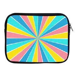 Rhythm Heaven Megamix Circle Star Rainbow Color Apple Ipad 2/3/4 Zipper Cases by Alisyart