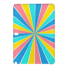 Rhythm Heaven Megamix Circle Star Rainbow Color Samsung Galaxy Tab Pro 12 2 Hardshell Case by Alisyart