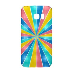 Rhythm Heaven Megamix Circle Star Rainbow Color Galaxy S6 Edge by Alisyart