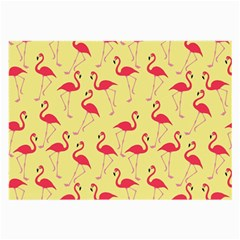 Flamingo Pattern Large Glasses Cloth (2 Side)
