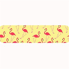 Flamingo Pattern Large Bar Mats by Valentinaart