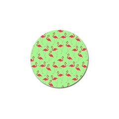 Flamingo Pattern Golf Ball Marker (10 Pack) by Valentinaart
