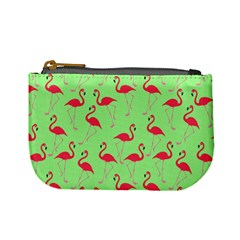 Flamingo Pattern Mini Coin Purses by Valentinaart
