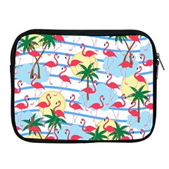 Flamingo Pattern Apple Ipad 2/3/4 Zipper Cases by Valentinaart