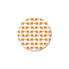 Indian Elephant  Golf Ball Marker (4 Pack)