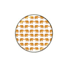 Indian Elephant  Hat Clip Ball Marker (4 Pack) by Valentinaart