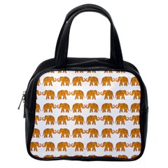Indian Elephant  Classic Handbags (one Side) by Valentinaart
