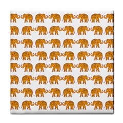 Indian Elephant  Face Towel by Valentinaart