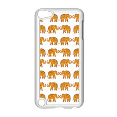 Indian Elephant  Apple Ipod Touch 5 Case (white) by Valentinaart