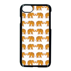 Indian Elephant  Apple Iphone 7 Seamless Case (black) by Valentinaart