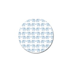 Indian Elephant  Golf Ball Marker (10 Pack) by Valentinaart