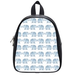 Indian Elephant  School Bags (small)  by Valentinaart