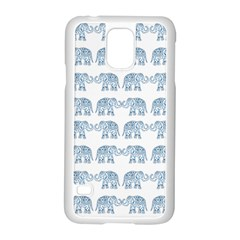 Indian Elephant  Samsung Galaxy S5 Case (white) by Valentinaart