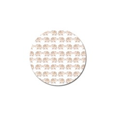 Indian Elephant Golf Ball Marker (4 Pack) by Valentinaart