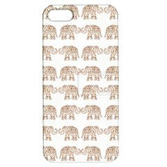 Indian Elephant Apple Iphone 5 Hardshell Case With Stand
