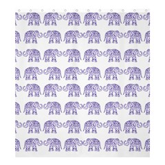 Indian Elephant Pattern Shower Curtain 66  X 72  (large)
